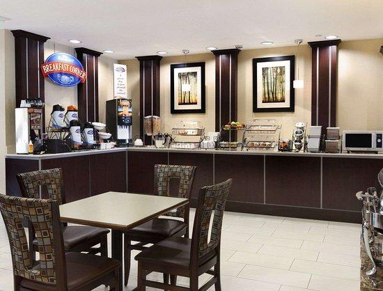 Baymont by Wyndham Victoria: Breakfast Area