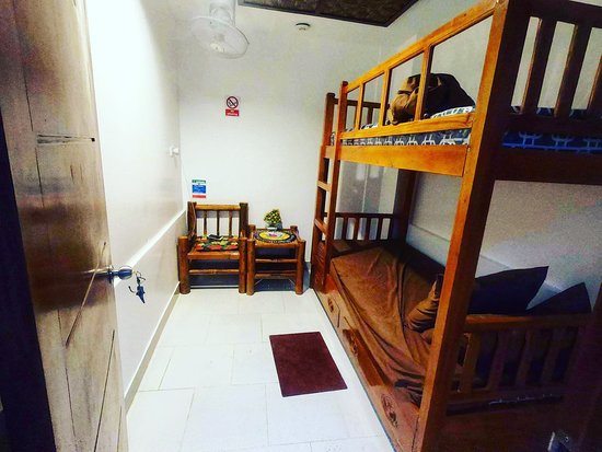 Alegria Dive Resort: modern budget rooms good for 2 persons