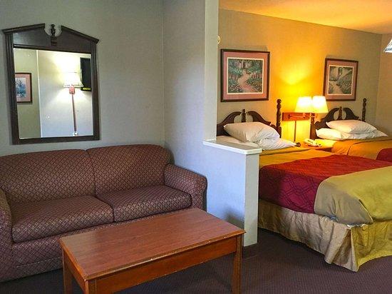 Calera, AL: Two Double Beds Suite