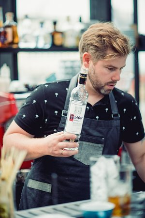 Cocktail masters. Herbarijs bar manager won World Class Baltics and was in Wolrd Class finals in 2019 in Berlin.