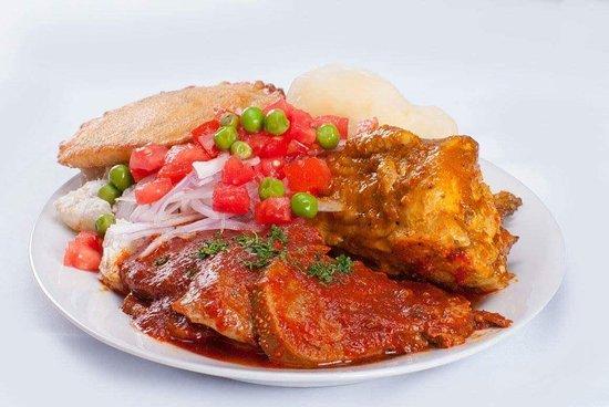 Picante mixto tradicional boliviano: fotografía de Restaurant Hasta la Vuelta, La Paz - Tripadvisor