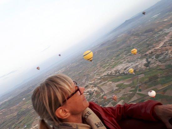 Каппадокия, Турция: Imperdível e indescritível passeio de Balão na belíssima região da Capadócia.