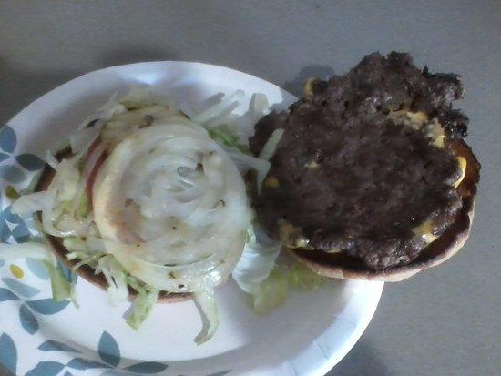 open burger