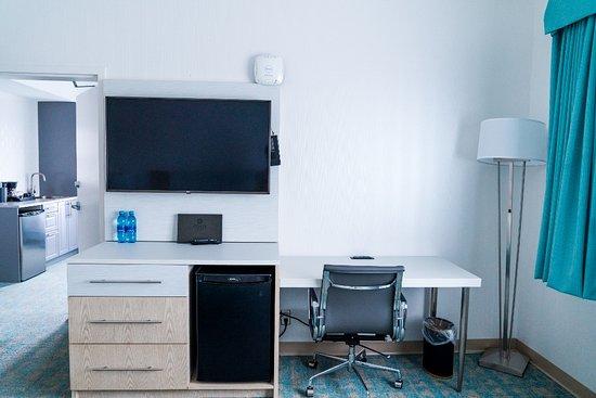 Executive Suite desk area