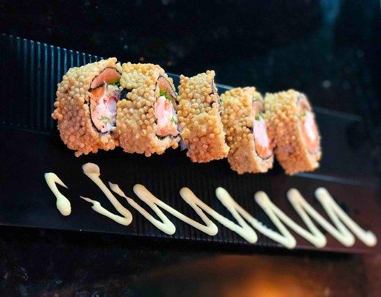 Nippon Culinaria Japonesa Sushi: Salmão Crunchy