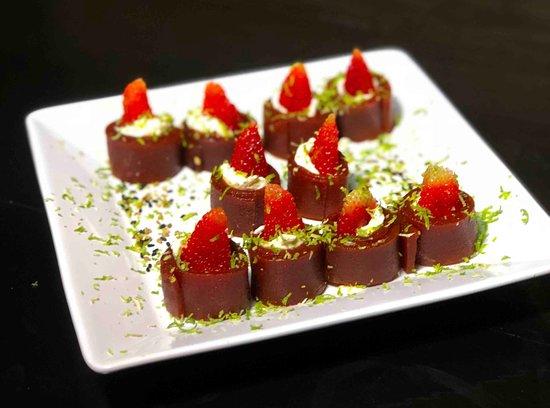 Nippon Culinaria Japonesa Sushi: Sobremesa Romeu e Julieta Especial