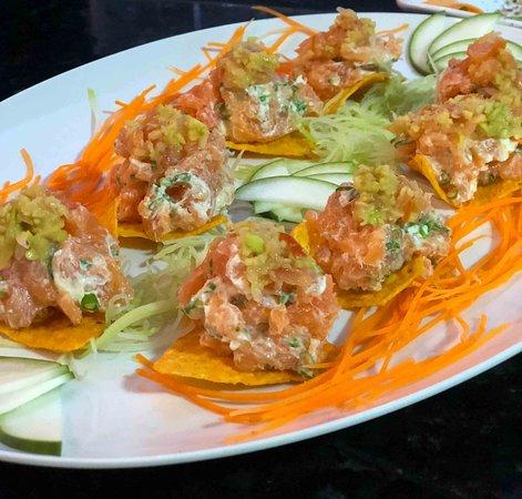 Nippon Culinaria Japonesa Sushi: Chips Salmão