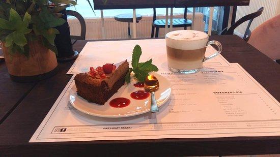 Pyszna kawa piernikowa & ciacho