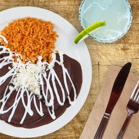 Take a trip to the Benito Juarez market in Oaxaca with enfrijoladas for brunch on weekends and holidays. We discovered most of recipes on our travels in Mexico and bring them to Berkeley every day.