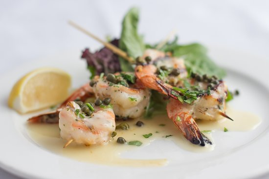 Loft Bar and Bistro: Prawns w/ Capers