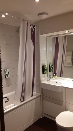 Paint in bathroom could do with fresh coat and toilet basin badly stained needs replacing.