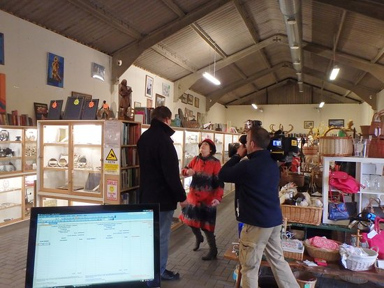 """""""Antiques Road Trip"""" with Anita Manning  at Gosfield Shopping Village."""