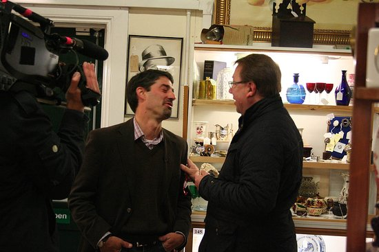 """""""Antique Road Trip"""" with Mark Stacey & Will Axon at Gosfield Shopping Village"""