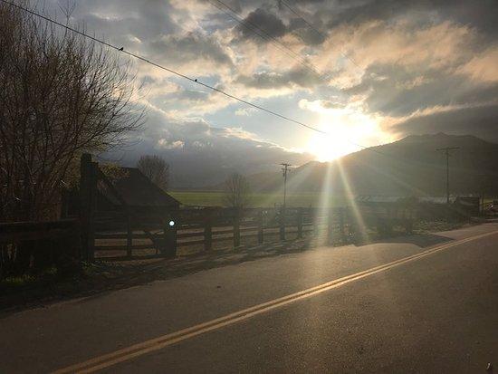 Beautiful sunrises each morning
