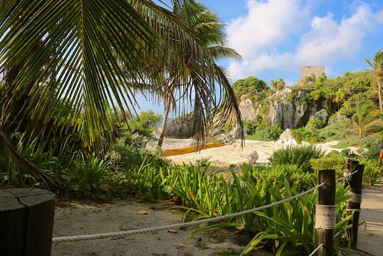 Tulum one of the beach areas