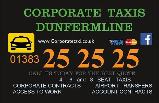 CORPORATE Taxis Dunfermline