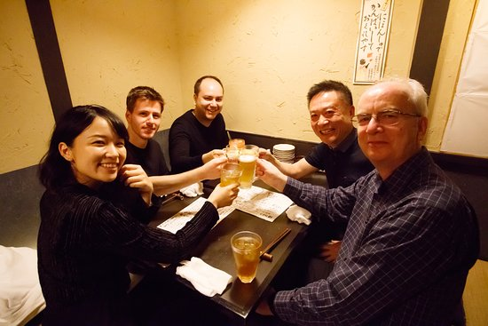 Shimogyo, Japon: Kaipai, cheers with fine drinks!