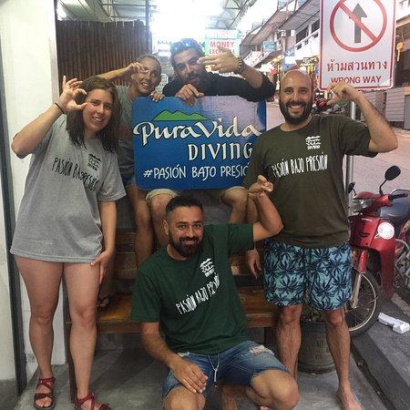 Pura Vida Diving: Experiencia inolvidable , instructor de lo mejor Damián