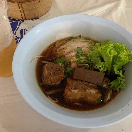 Boiled pork Longan Noodle !!
