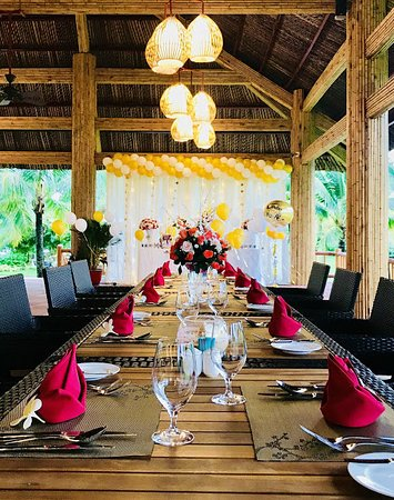 Vinpearl Resort & Spa Phu Quoc: Pepper_warm & extremely luxusious space for birthday party