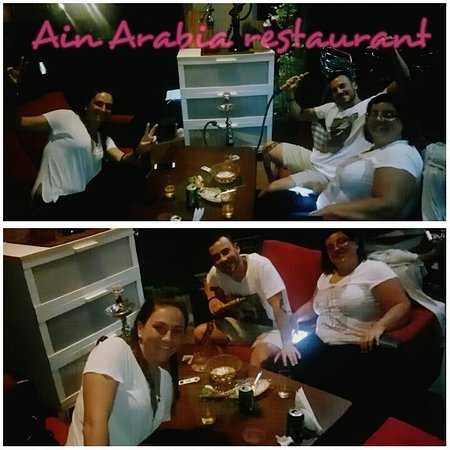 Ain Arabia Restaurant & Cafe: customer from italy.. all holiday with us.. come back for taking dinner 3night