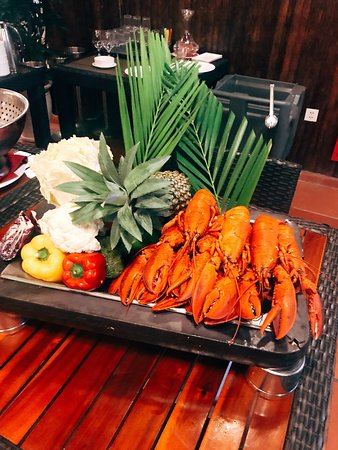 Vinpearl Resort & Spa Phu Quoc: Pepper with Lobsters