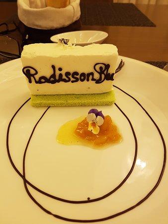 Radisson Blu Resort Phu Quoc: Dessert with a touch of class