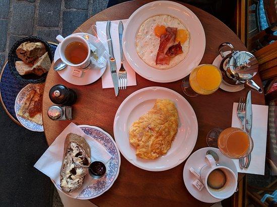 The full breakfast.