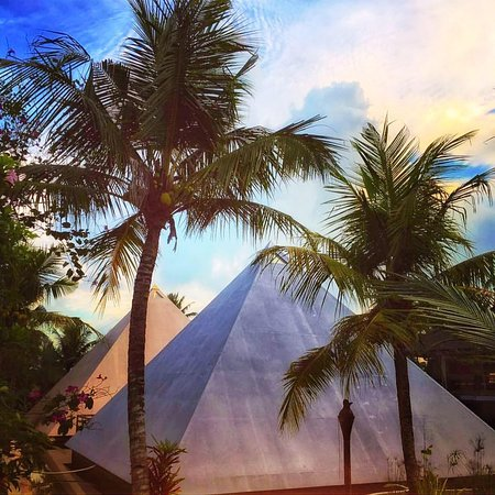 Beautiful capture of The Sun and Moon Pyramids