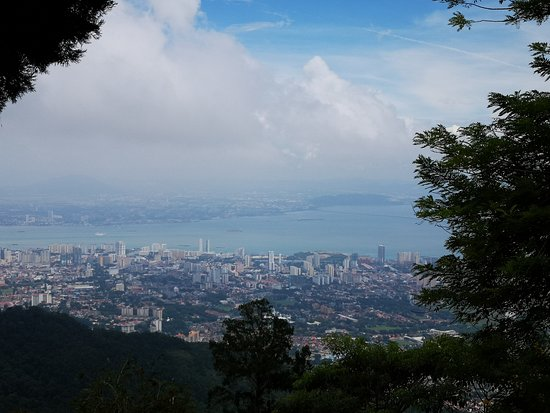 Penang Hill: The View