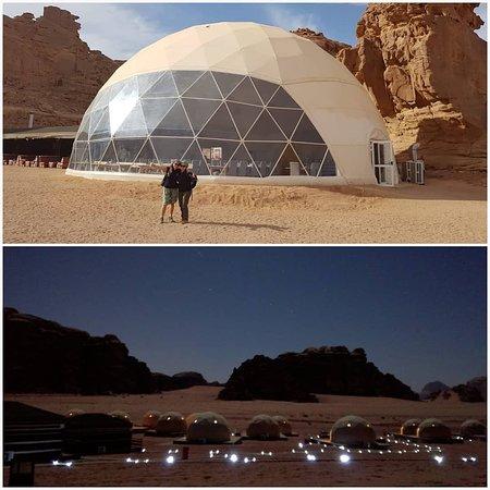 cAMP in giordania, deserto
