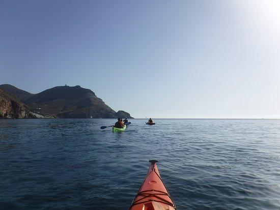 San Jose, Espagne : Excursiones en kayak