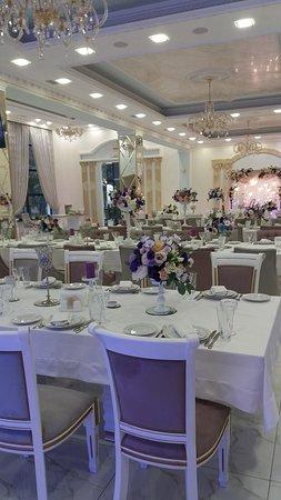 Свадебный декор банкетного зала