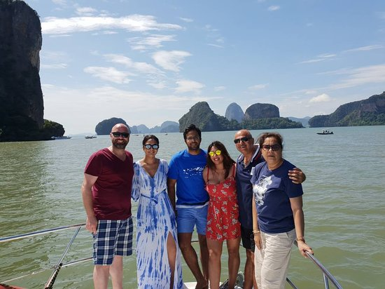 Phang Nga Bay Excursion on the 40ft Luxury Power Boat