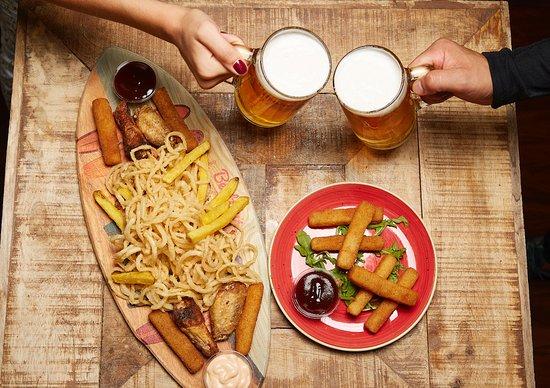Combo con cerveza hacen buena pareja