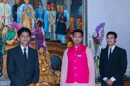 The Shiv Vilas: Messieurs Vishnu Jaga, Shubham, Vipin