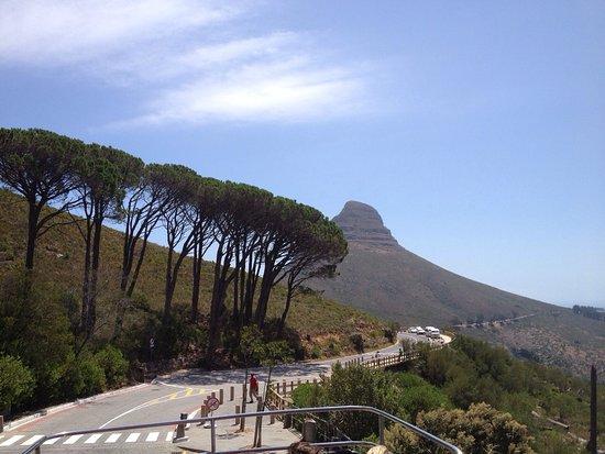 Cape Town Merkez, Güney Afrika: По дороге к Столовой горе