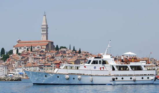 Rovinj, Croatia: Motor yacht Cadabra offers a wide range of personalized trips, cruises, one-day romantic excursions, and business events and incentives.