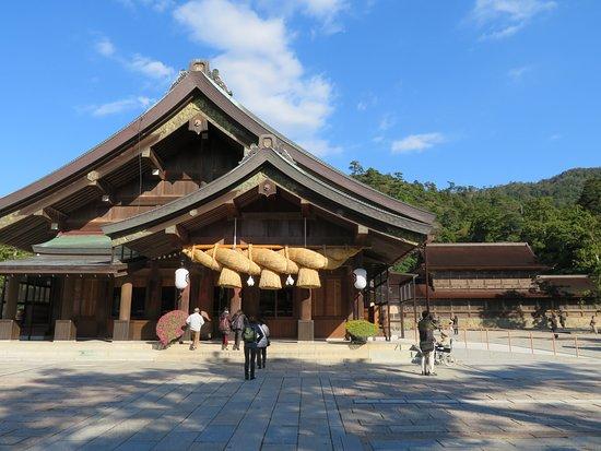 Izumo Taisha Shrine: 拝殿
