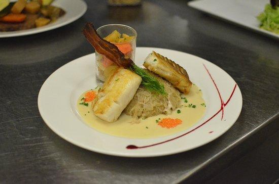 La Taverne: Choucroute aux poissons