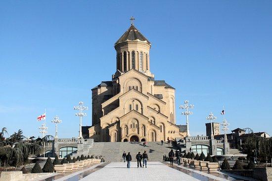 """Holy Trinity Cathedral of Tbilisi """"Sameba"""""""