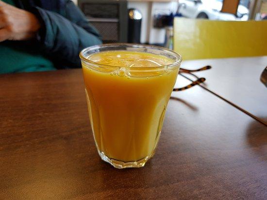 Succo di arancia