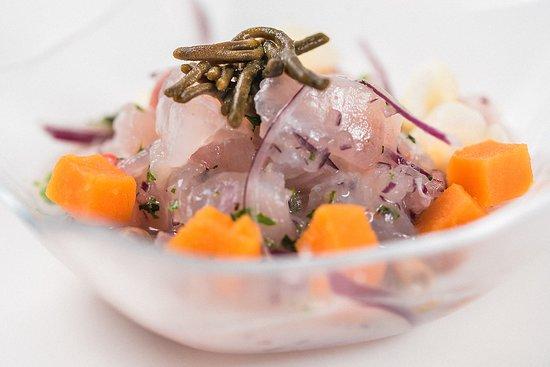 Ceviche de pescado fresco del día
