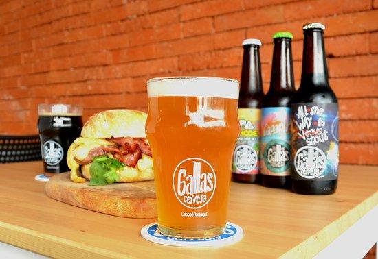 21 Brewpub Gallas Craft beer: Craft beers and hamburguers