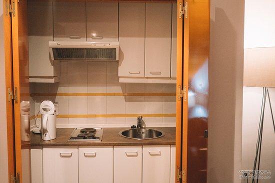 더블스위트.. 딸려 있는 주방