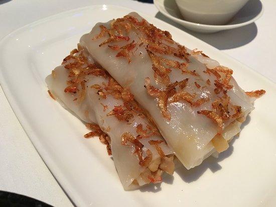 櫻花蝦炸菜肉鬆腸粉