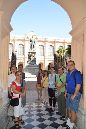 Patio Mayor de la Manzana jesuítica.