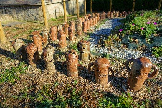多分地元の人が作った埴輪
