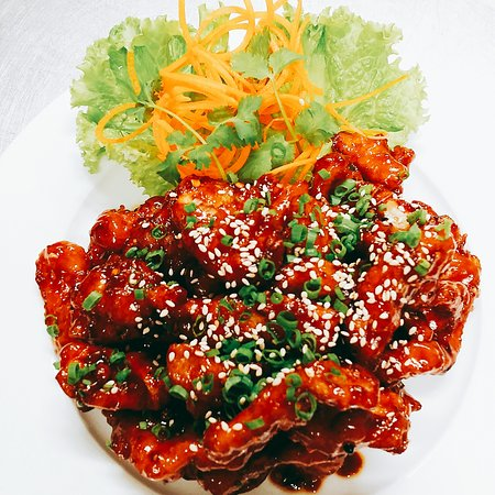 Crispy Szechuan Chicken