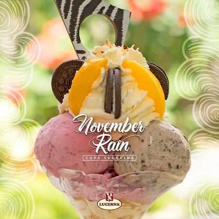 Pasteleria Lucerna: Exquisitas copas de nuestros gelatos artesanales de temporada